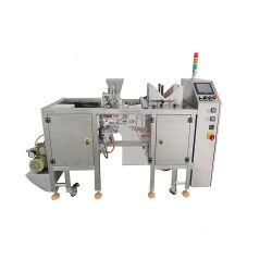 Высокая эффективность Pre-Made чехол открыть пластиковый мешок молнии двойной упаковке машины для уборки риса сахар кофе заполнение герметизация и уплотнение