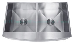 Had3621A 36× 21× 10/10 Zoll Schürze Bauernhaus Handgefertigte Ware Utensil Schrank Zubehör Countertop Double Bowl Edelstahl Küchenspüle