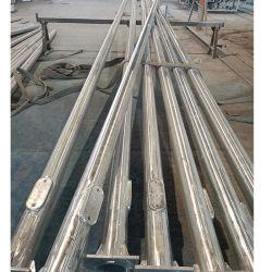 Lâmpada de aço galvanizado de pós 6-15m/Luz de rua de tráfego poste de iluminação