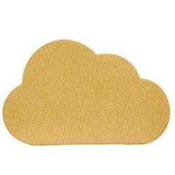 패션가 좋은 코크 보드를 밀어주는 구름 모양 디자인 핀 그레인 코크와 자체 접착력