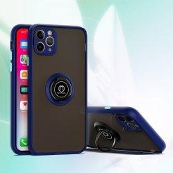iPhone 11 12 TPU Handy-Fall-Deckel Shockproof mit magnetischem Auto-Griff-Montierungs-Zoll-Firmenzeichen