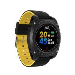 Van het nieuwe Product de Dynamische U Smartwatch NFC Len8 Sociale Herinnering Van uitstekende kwaliteit van het Polshorloge Black+Yellow