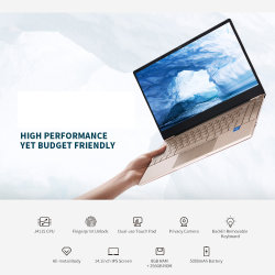 すべては14.1インチIPSスクリーン8GBのRAM 512GB 256GB SSDの指紋のNotebbokの大型のバックライトを当てられたラップトップのWindows 10のオフィスのゲームに金属をかぶせる