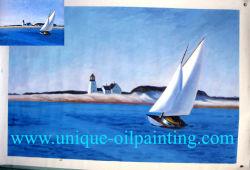Pintura a óleo, Seascape pintura a óleo, famosa pintura a óleo