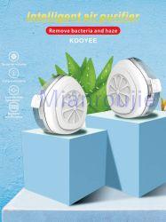 재사용할 수 있는 지능적인 에어 컨디셔너 정화기 인공호흡기 KN95 가면 전기 필터