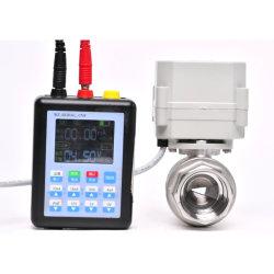 Пропорциональный клапан газа воды 4-20 Ма 0-10 V 0-5V DN25 1 дюйма модулирующий клапан V типа шаровой клапан
