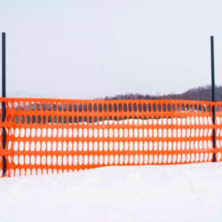 بلاستيك برتقاليّة ثقيل - واجب رسم ثلج شبكة سياج لأنّ إنذار