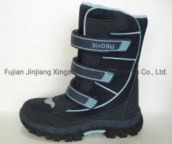 Venta caliente caliente rodilla botas de nieve del invierno las botas (03061-1)
