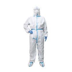 도매 의류 디스트리뷰터 병원 ICU에 의하여 사용되는 의류에 있는 의학 안전 제품 작업복 보호의 처분할 수 있는 작업복 의류