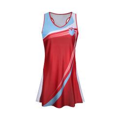 Plus Size mayorista en blanco personalizados de diseño de sublimación de las niñas visten de baloncesto