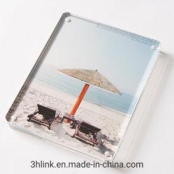 Cadre photo magnétique en Acrylique Acrylique double face Photo Frame Frameless écran de bureau