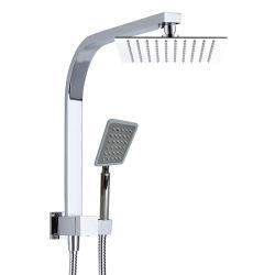 Ducha de doble plaza con ducha y ducha de mano el desviador