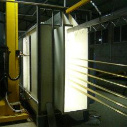 Beauty Design aluminium extrudé entièrement automatique Ligne de revêtement en poudre