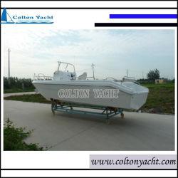 de 7.65m Gebruikte Boot van de Glasvezel, KruisJacht met Cabine