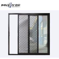Опускное стекло из алюминиевого сплава на противомоскитные сетки