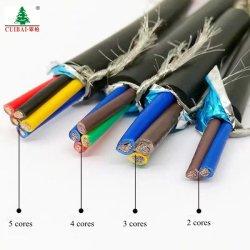 450/750V Kvvr Kvvp 2.5mm2 4.0mm2 6.0mm2 구리 알루미늄 지휘자 용접 XLPE PVC 절연제 재킷에 의하여 보호되는 계기 케이블 자동 통제 철사