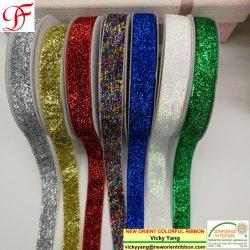 Ruban de velours métallique avec suffisamment de stock pour de nombreuses couleurs