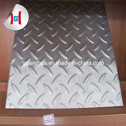 304 체크 무늬 평판 스테인리스 스틸 시트 스테인리스 스틸 단가 톤
