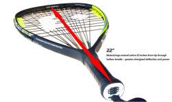 High Performance Control en duurzaamheid Cilinderframe Exclusief lichtgewicht Custom OEM Logo Racquetball Racquet
