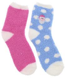 Custom не размытые скольжения Терри носки ручка Рождество носки опорной части юбки поршня полотенце носки