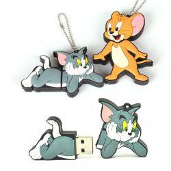 Cartoon Animal de la souris et Cat Tom et Jerry disque USB