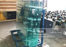 Venda a quente 3mm-19mm plana/curved painéis isolantes de vidro temperado