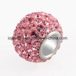 Perle sfuse in argento cristallino personalizzate