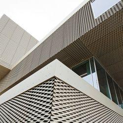 Алюминиевый корпус расширения металла на фасад здания