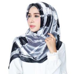 Imprimé sur chinois fait sur mesure numérique 100 % d'armure sergé foulards de soie
