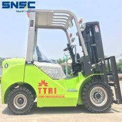 El equipo de la carretilla elevadora diesel de 25 toneladas Forklifting