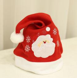 Подарок рабочих на заводе Custom новый дизайн красный считает Рождество с Санта-Red Hat с логотипом