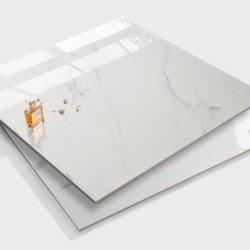 Bester Preis in China hergestellt Home Dekoration Baumaterial Badezimmer Küche Weiß Keramik Marmor Stein Voll Poliert Glasiert Porzellan Vitrified Bodenfliesen