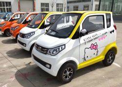 Novo carro CEE 4 Rodas chinês de 5 lugares e Aluguer de Carro Eléctrico Mini Solor SUV 3 Rodas Banheira de venda de veículos novos da pequena velocidade do carro de Scooter elétrica barata nova energia