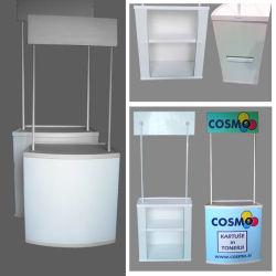 Visor de Tamanho Grande portátil de Promoção de plástico do contador de tabela (PM-02)