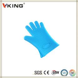 China Wholesale Guantes de cocción de silicona