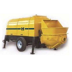 Com certificação CE Hbt50 da Bomba de Reboque de concreto com 100m de condutas para a Livre