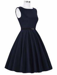13 Lady Black cadeau de Noël de la courroie OEM Custom robe de thé