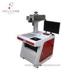 Superfície curvada Focuslaser forma redonda com máquina de marcação a laser de fibra 3D Testador de Laser de fibra