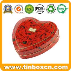Heart-Shaped Zinn für Schokoladen-Süßigkeit, Inner-Zinn-Kasten