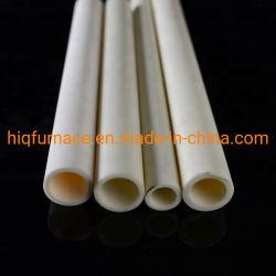 Oxyde d'aluminium Al2O3 en céramique de tube / Tube de protection de thermocouple / corindon tube en céramique bas prix, de haute pureté corindon Four Tube résistant à la chaleur