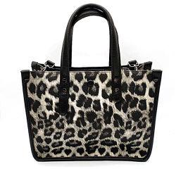 Bold неумеренным Leopard зерна женщин широкий ремень женская сумка Crossbody