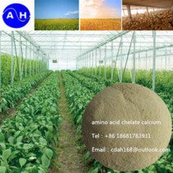 Quelato de aminoácidos de cálcio fertilizante foliar total solúvel em água