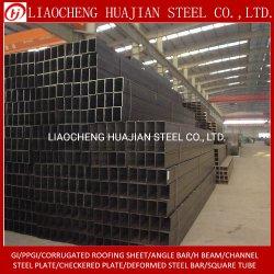 Fornitore d'acciaio quadrato del tubo della decorazione & della costruzione ERW