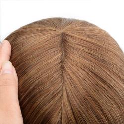 Lw4874 Lace مع السيليكون حقنه طبيعى طبيعى طبيعى للغاية شعر مستعار