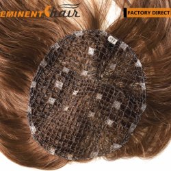 女性のためのRemyの毛の統合のToupee