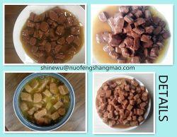 Chunk en sauce Pet en conserve de la nourriture pour chien et chat saveur de la viande bovine