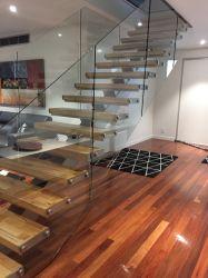 L'Australie/US High Standard Accueil l'emploi directement escalier escalier en bois d'acier de la voie avec la Chine de la fabrication