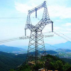 10kv-1100KV Transmission de puissance électrique de la structure en treillis métallique