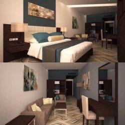 Hôtel Chambre à coucher Mobilier ou de Luxe Chambre à coucher Mobilier de l'hôtel King Size/Standard de l'hôtel Chambre King Size Suite (NCHB-01695133103)