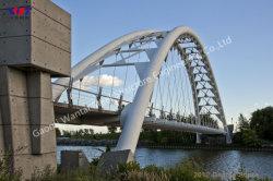 Arch Bridge Aus Moderner Stahlkonstruktion